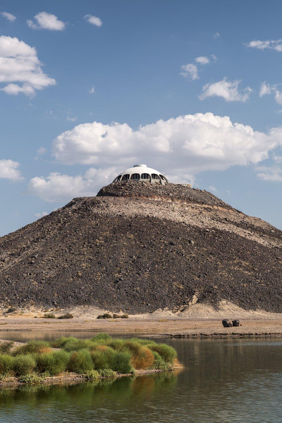 Outdoor, Desert, Boulders, and Shrubs  Volcano House by lance gerber
