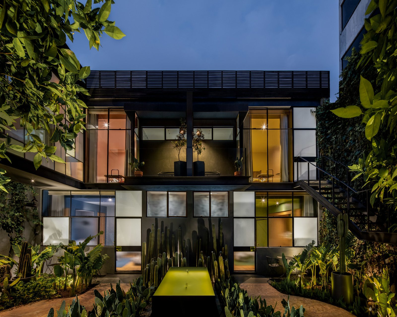 Photo 5 of 7 in Ignacia Guesthouse Balances Historic and Modern In Mexico City