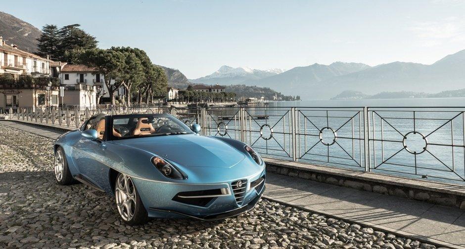 Alfa Romeo Disco Volante Spider Concept by Carrozzeria Touring Superleggera ... one fine form