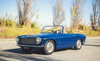 1962 Innocenti Spider 950 ... Less is More