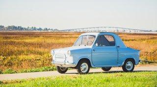 1959 VESPA 400 Micro Car