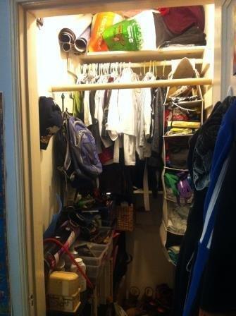 The horrible closet