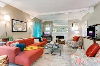 A family room gets a hi-tech modern makeover - Photo 6 of 10 -
