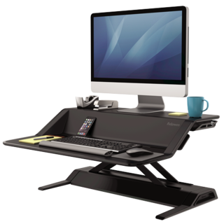 The Lotus Sit Stand Workstation: the next best thing to yoga while you work
