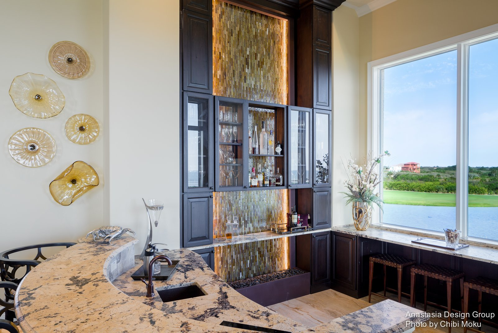 Architecture Spotlight #82 | Palm Coast Paradise by Anastasia Design Group | Palm Coast, FL