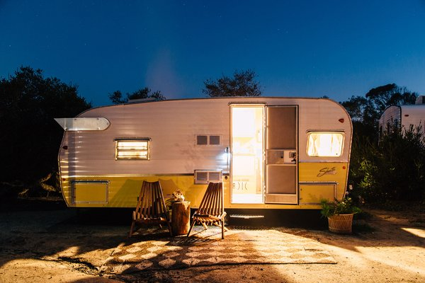 The Holidays: A Retro Camp Community On Southern California's Scenic Coastline