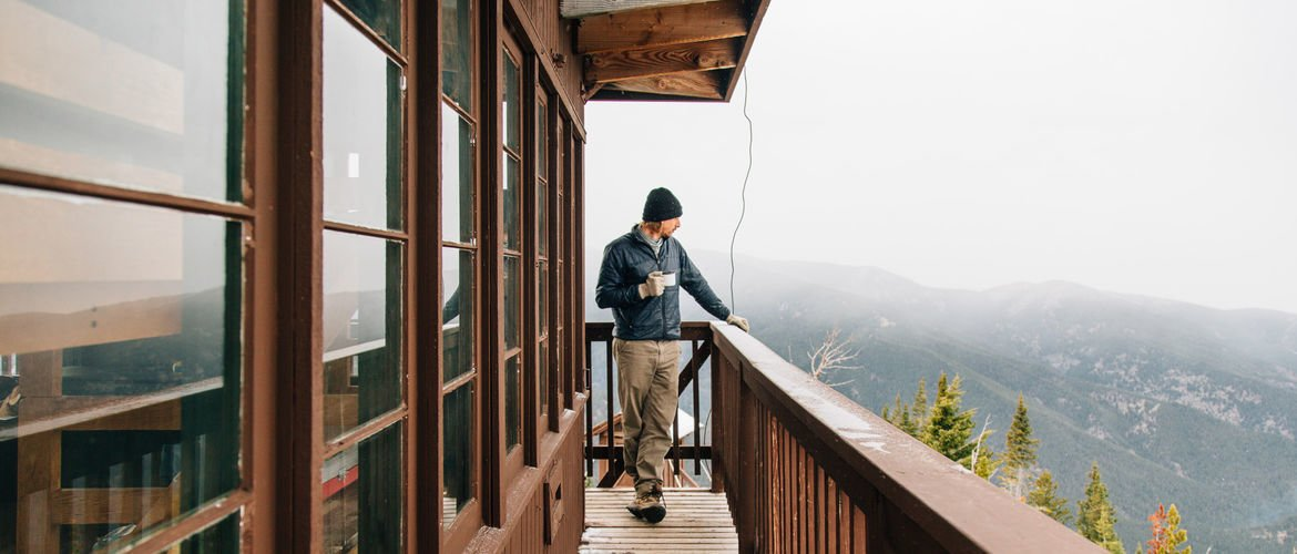 Photo 1 of 7 in A Fire Lookout Tower From the 1930's is Preserved as a Rustic Getaway