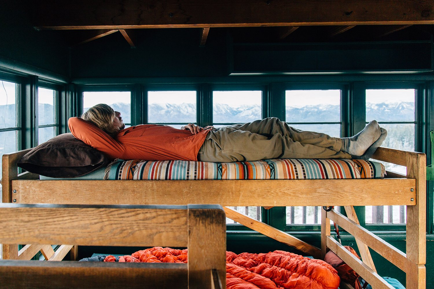 Photo 7 of 7 in A Fire Lookout Tower From the 1930's is Preserved as a Rustic Getaway