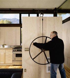 Inside Washington State's Steel Cabin On Stilts - Photo 2 of 5 -