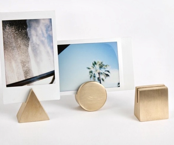 Geo Photo Stands from Yield