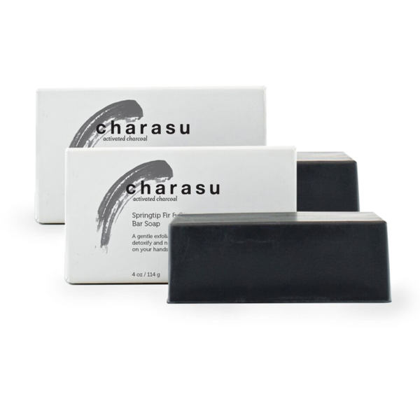 Charasu Charcoal Soap – 2 Pack