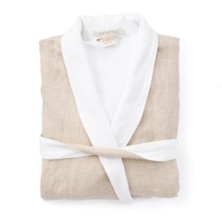 Coyuchi Organic Linen Terry Robe