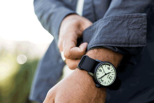 Huckberry x Lum-Tec Watch