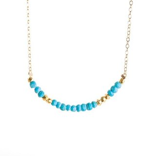 Julia Szendrei Morse Code Love Necklace