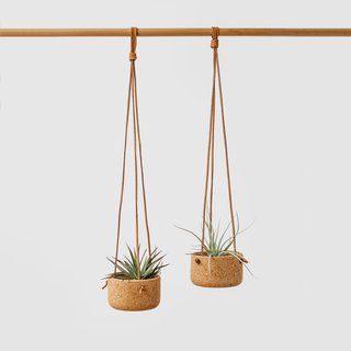 Melanie Abrantes Small Cork Hanging Planter