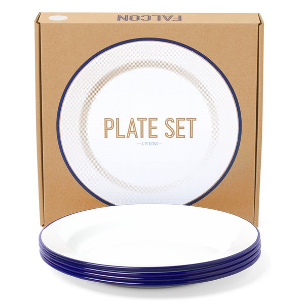 Falcon Enamelware Plate Set