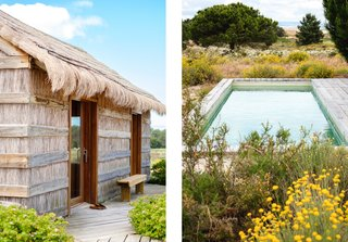 Portugal's Thatched-Roof Beach Cabins Bring the Outdoors In - Photo 5 of 5 -