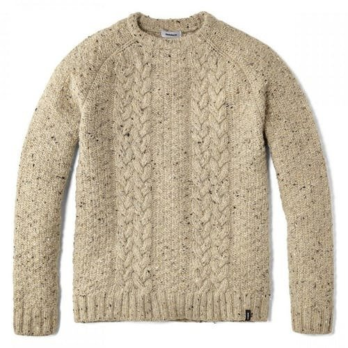 Finisterre Westray Crew Sweater in Shale