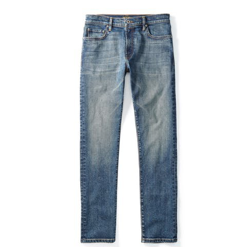 Flint and Tinder Slim Fit Stonewashed Jeans