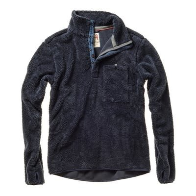 Relwen Shag Fleece Pop-Zip