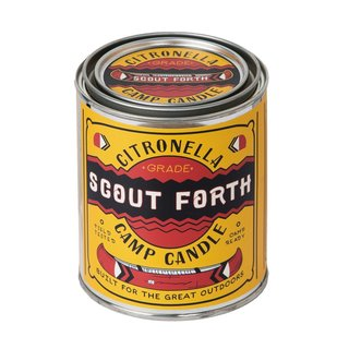 Scout Forth Camp Candle