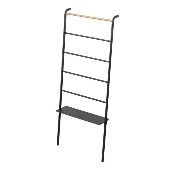 Tower Leaning Ladder with Adjustable Shelf