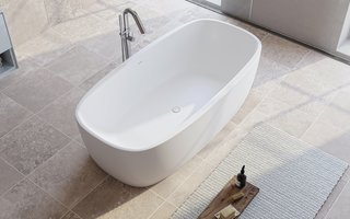 Aquatica Coletta Solid Surface Freestanding Bathtub - Photo 1 of 2 -