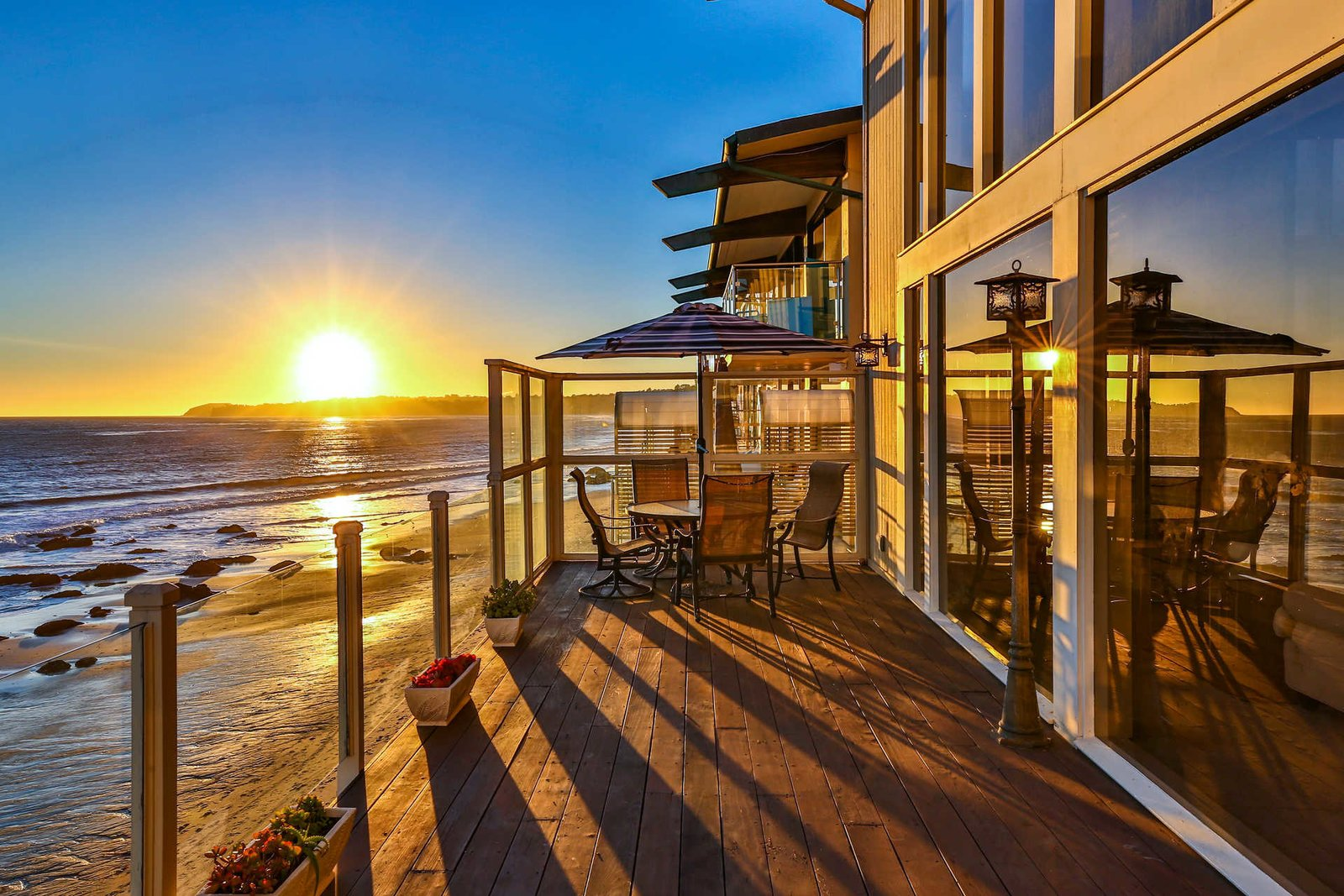 Outdoor  It's All About The Light at This Traditional Malibu Beach House