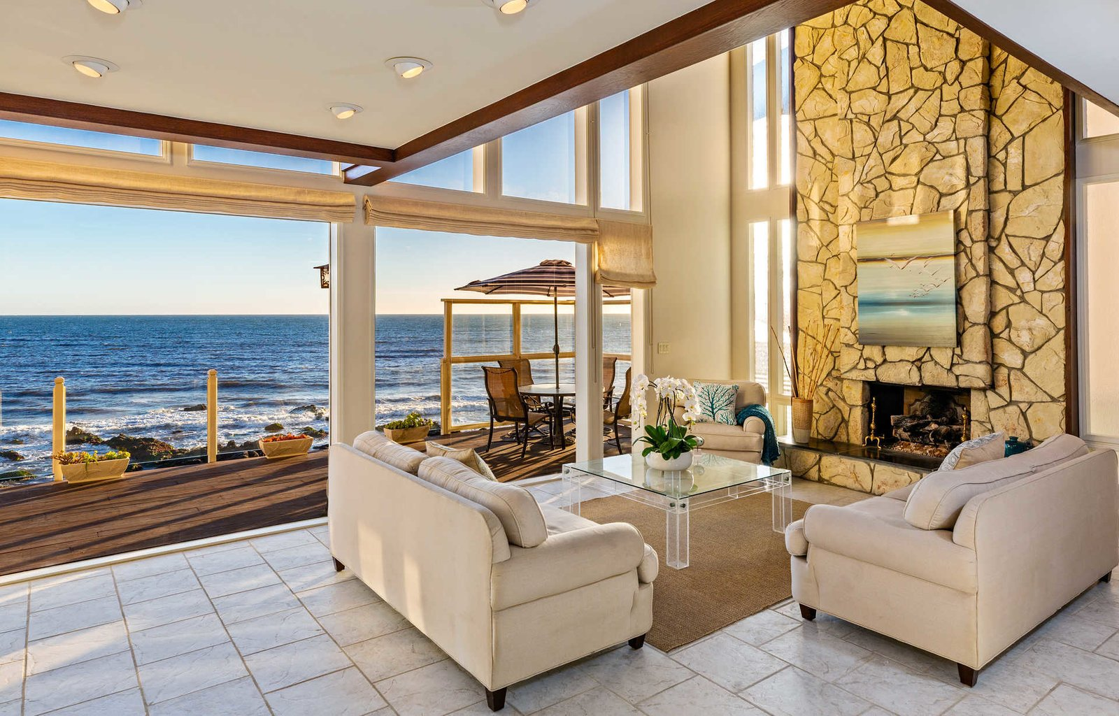 House Building Type and Beach House Building Type  It's All About The Light at This Traditional Malibu Beach House