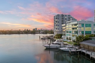 Striking, Modern Waterfront Residences Debut Along Fort Lauderdale's Picturesque Sunset Lake
