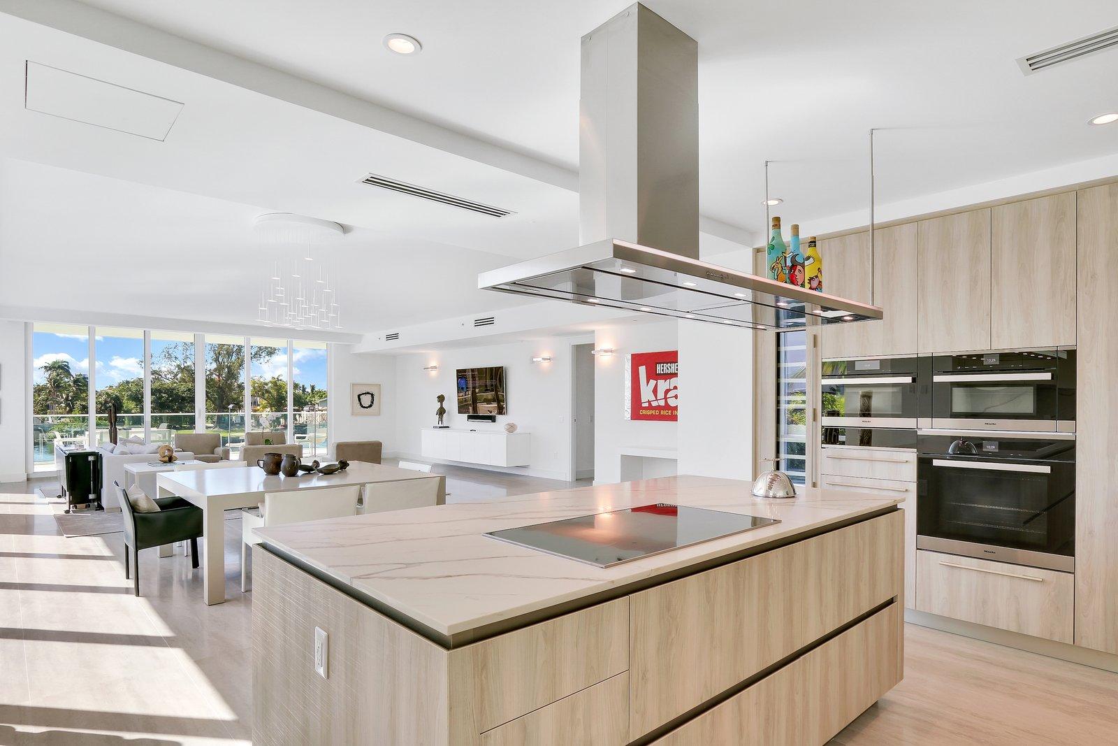 Kitchen  Striking, Modern Waterfront Residences Debut Along Fort Lauderdale's Picturesque Sunset Lake