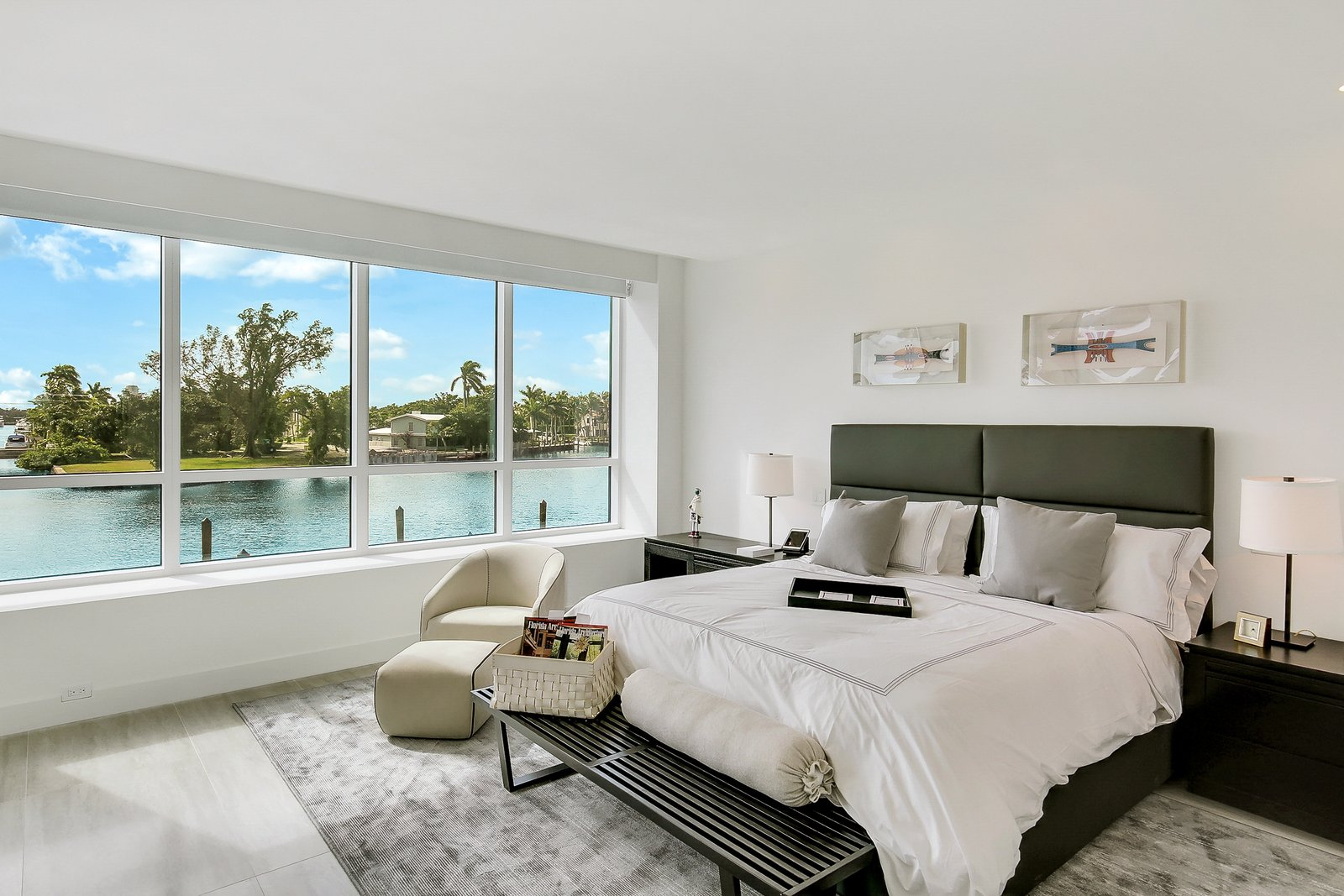 Bedroom  Striking, Modern Waterfront Residences Debut Along Fort Lauderdale's Picturesque Sunset Lake