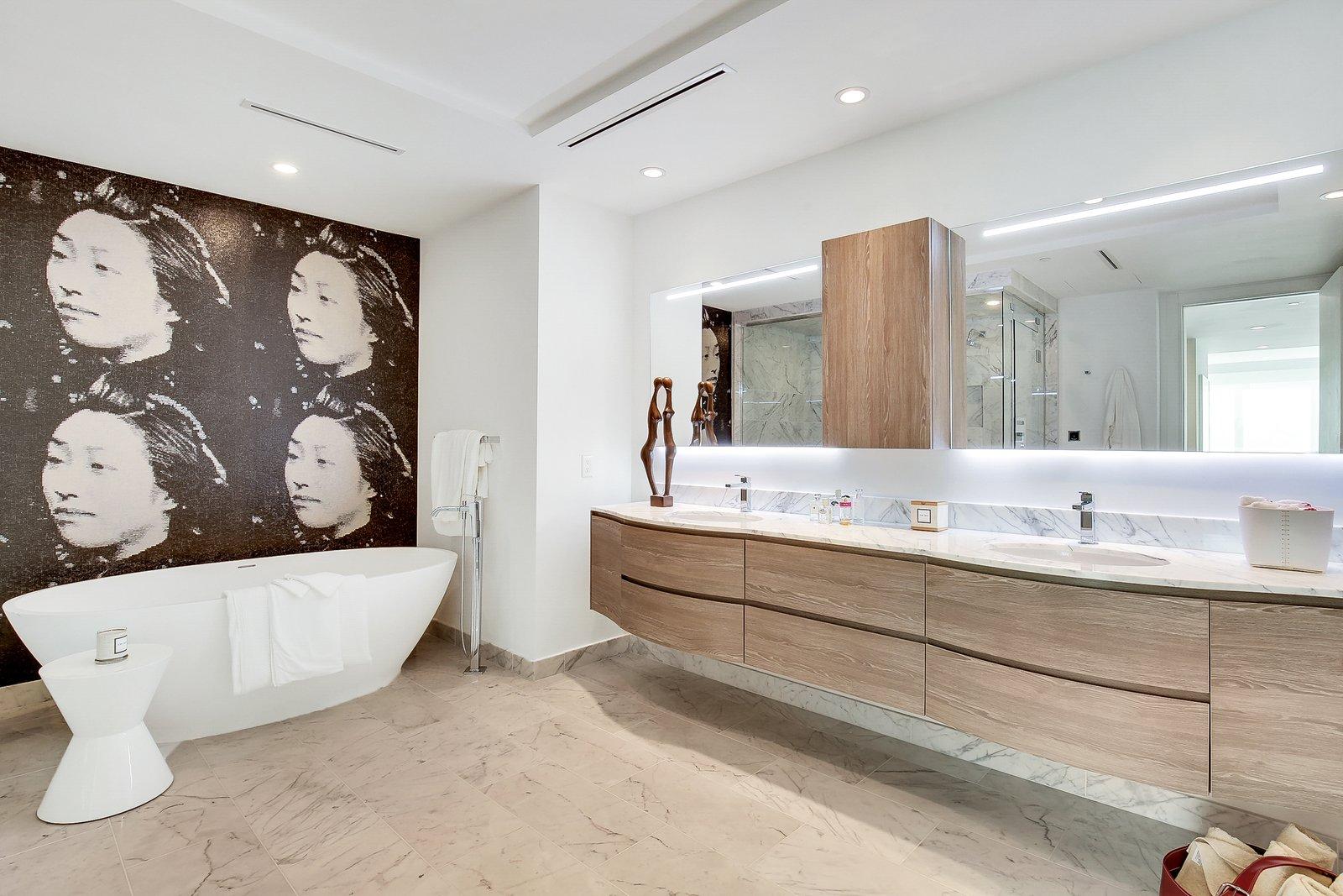 Bath Room  Striking, Modern Waterfront Residences Debut Along Fort Lauderdale's Picturesque Sunset Lake