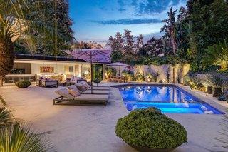 A Midcentury Modern Oasis in Bel Air