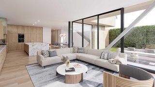 A Newly-Built Modern Hilltop Home in Mar Vista