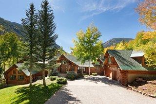 A Picturesque, Custom Log Home in Aspen