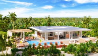 Sustainable Living Steps From The Beach at Karaya Blue in Turks & Caicos