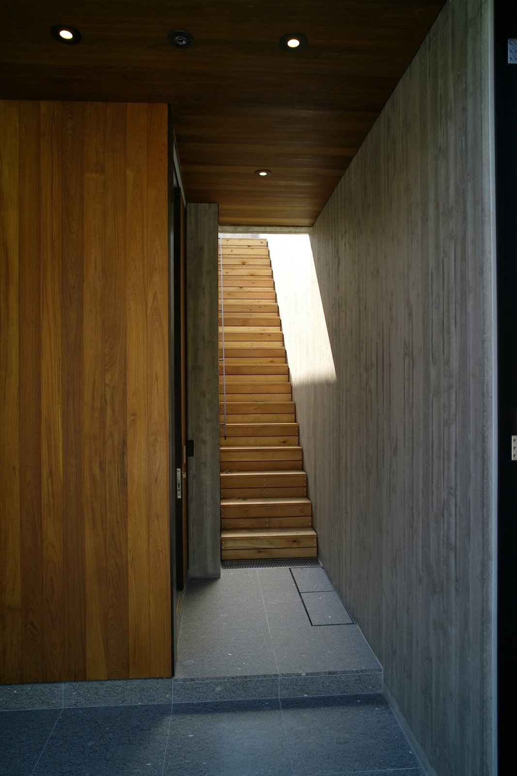 Staircase and Wood  Best Staircase Photos from House in Akiya