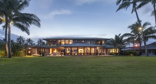 This home shared from our Dwell community is set on a spectacular Oahu beachfront and was envisioned as a gathering spot for the homeowner's large extended family. Designed by Gast Architects, its numerous sustainable features led to LEED Gold certification.