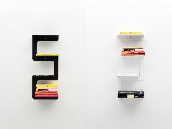 Multiplane Bookshelf