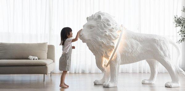 Lion X Floor Lamp