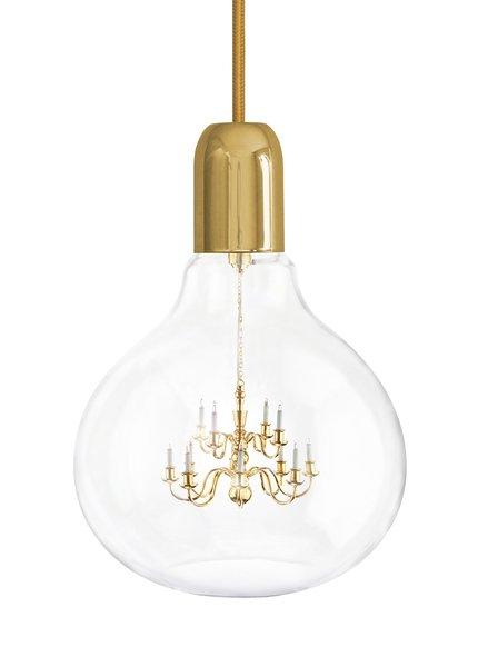 Gold King Edison Pendant