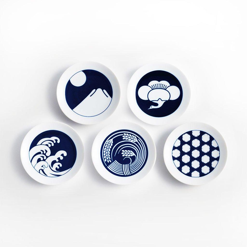 Seasonal Plates - Set of 5