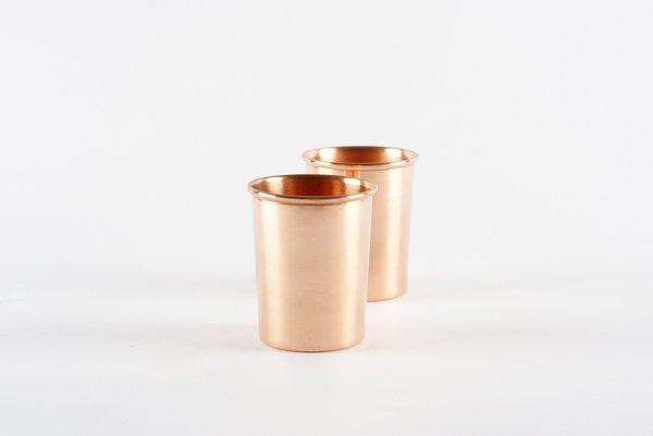 Copper Cups Set