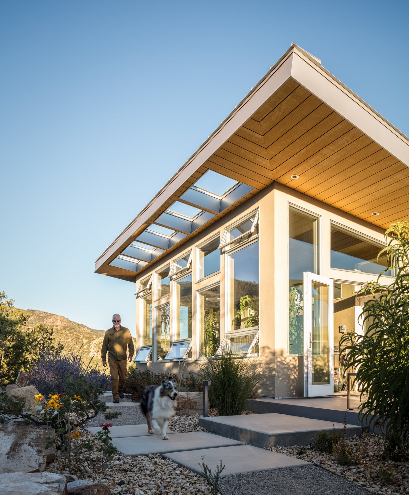 Exterior and House Building Type  Northern Slope Sanctuary by Gettliffe Architecture