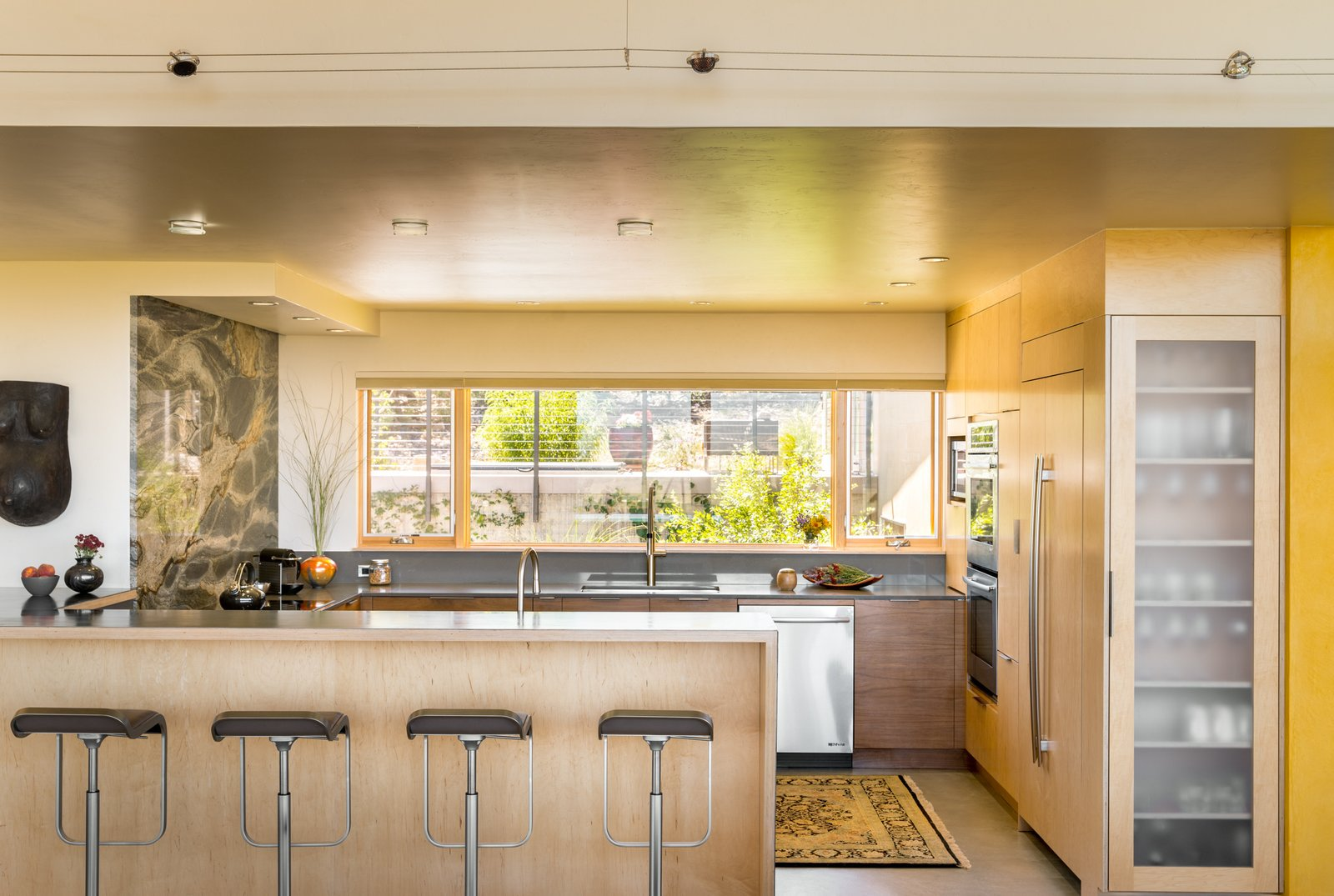 Kitchen  Northern Slope Sanctuary by Gettliffe Architecture