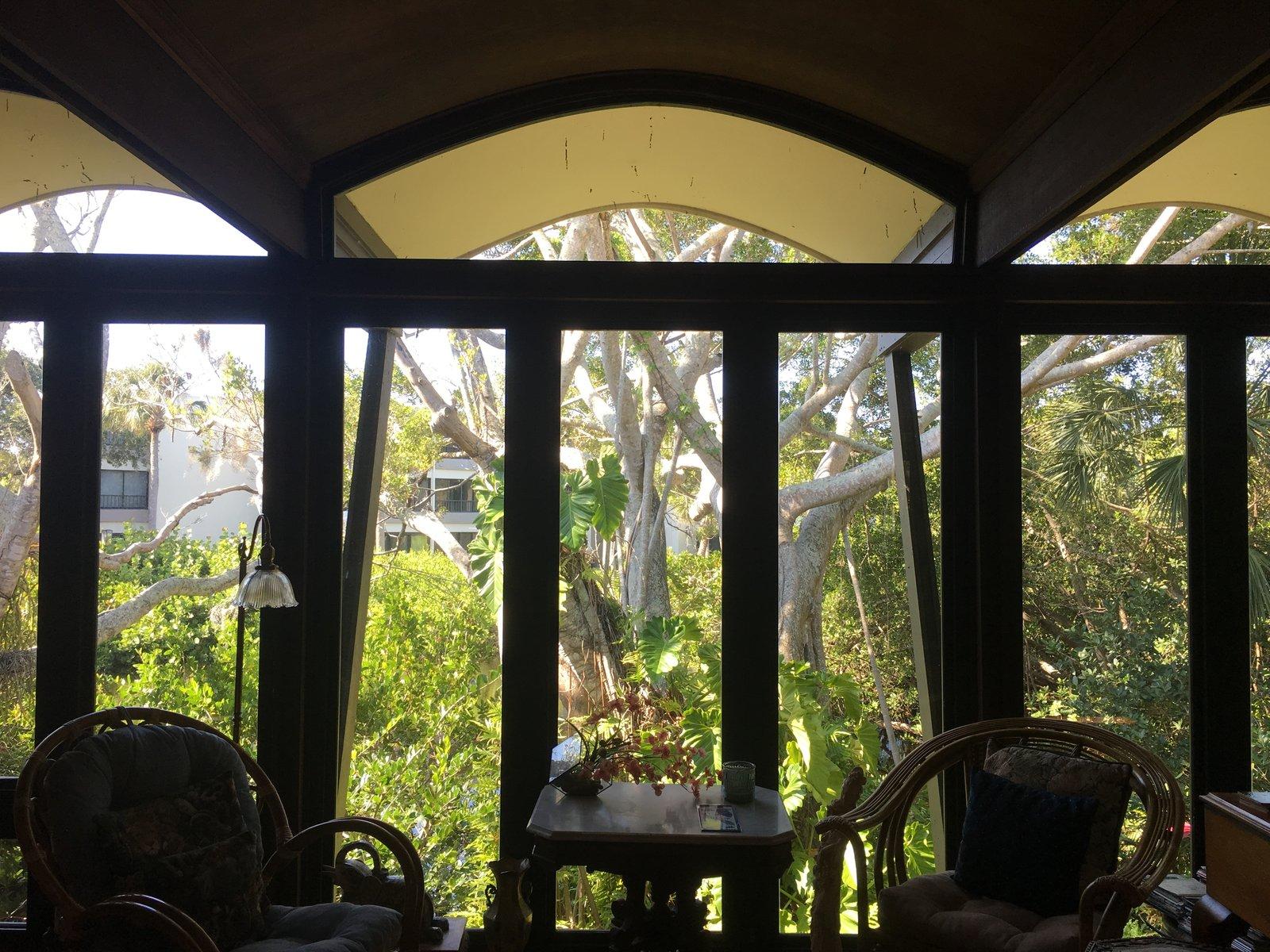 Living Room and Porcelain Tile Floor  Inghram Hook Guest House