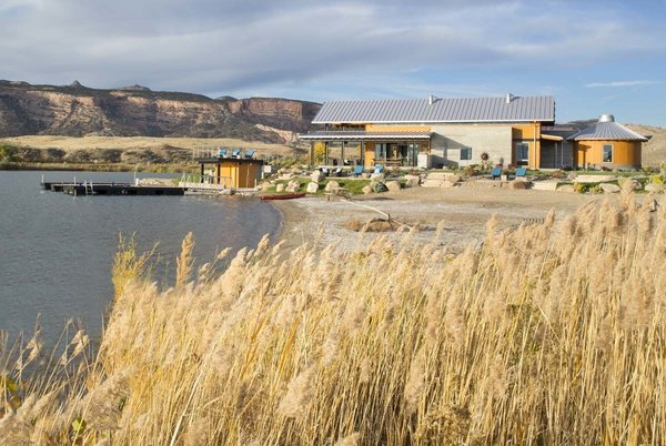 The home is located in the town of Fruita, Colorado, which is popular for its varied and extensive mountain bike trails.