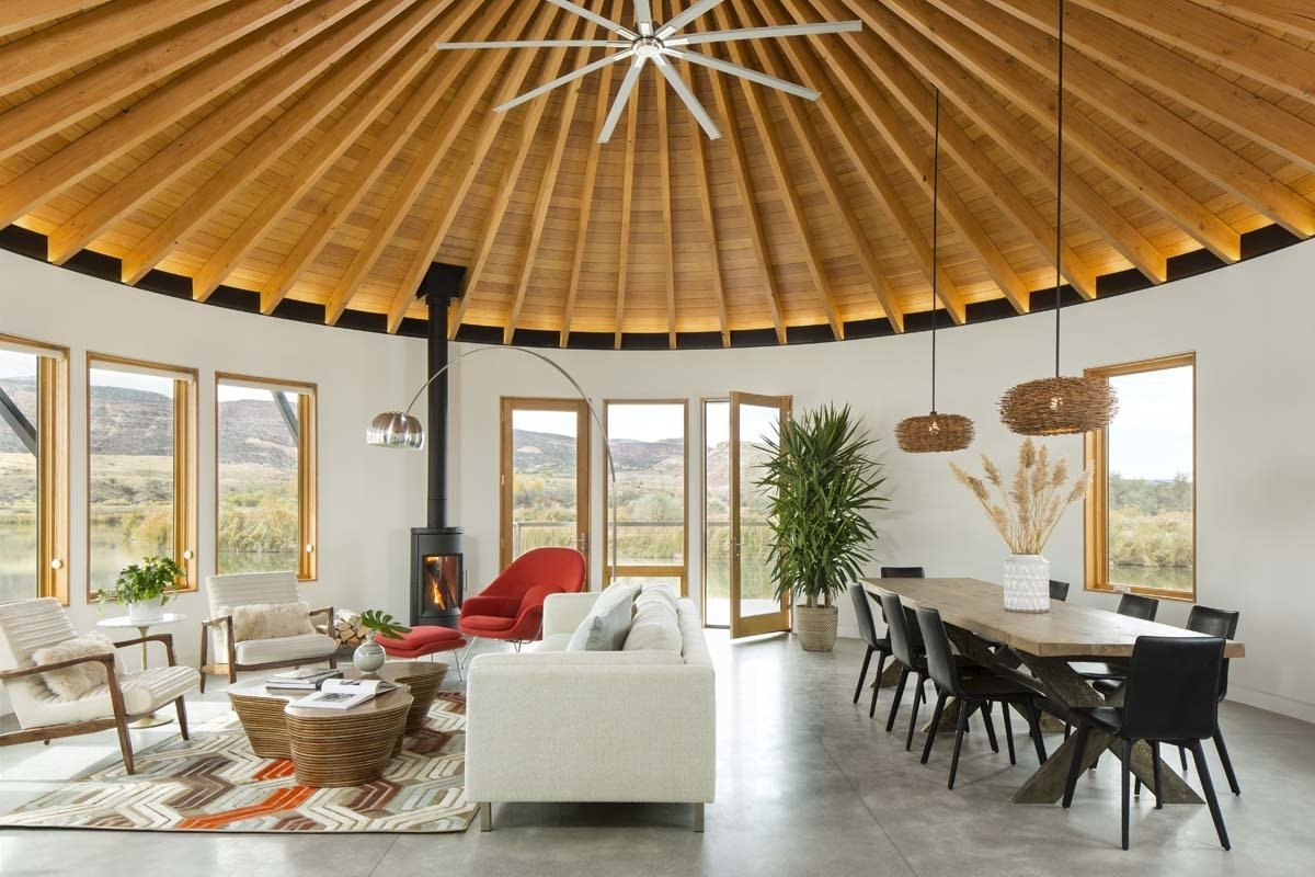 Photo 3 Of 9 In A Yurt Inspired Vacation Home On The High