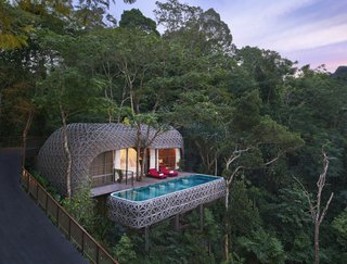 Opened in 2015, Keemala—which is located in Kamala Village in Phuket, Thailand—offers four types of private accommodation options including Clay Cottages, Tent Villas, Tree Houses, and Bird's Nest Villas. All villas come with pools and views of the jungle canopy.